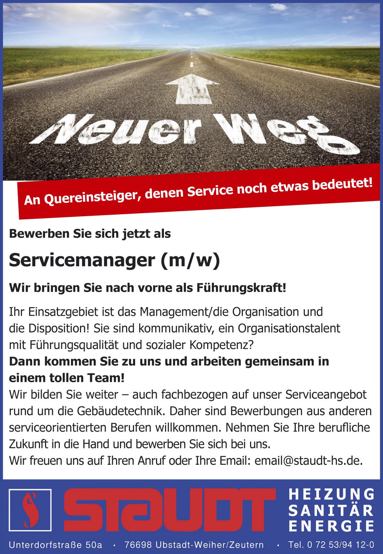 Stelle_Servicemanager neu